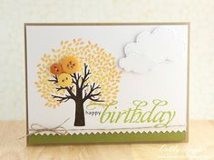 Card making blog.  uses stampin up products by Carolmary