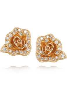 Anita Ko Rose Earrings