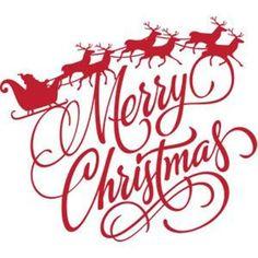 Silhouette Design Store: Merry Christmas Santa Reindeer Silhouette Image of design Christmas Decals, Christmas Stencils, Merry Christmas Santa, Santa And Reindeer, Christmas Wishes, Christmas Projects, Merry Christmas Images, Merry Christmas Greetings, Christmas Quotes