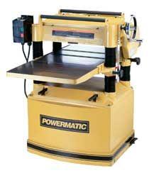 Powermatic 209 20 Planer 5HP 1PH 230V Wood Woodworking
