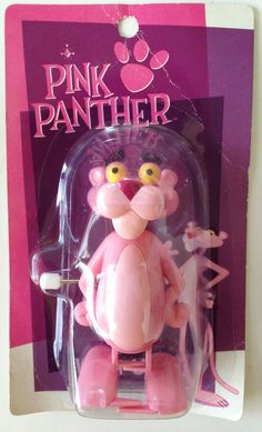 PINK PANTHER Wind-Up Figure Normal Ver. Heart Art Collection JAPAN #HeartArtCollection