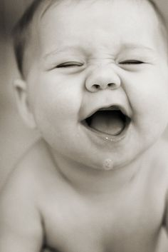 Sweet Lil' Baby Laughing - So Cute