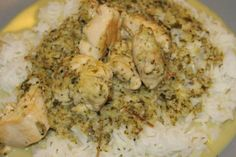 Healthy food recipe: Thai green chicken curry - i try to eat healthy