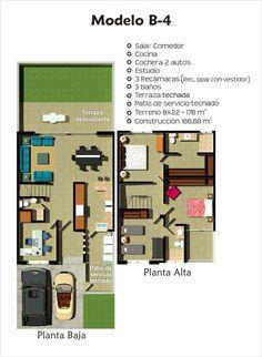 Planos de casas planos de construccion daniel guzm n for Modelos de departamentos pequenos