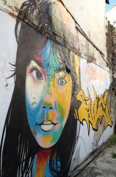 Street art Thailand. LOVE STREET  ART? CHECK  OUT https://www.etsy.com/shop/urbanNYCdesigns?ref=hdr_shop_menu