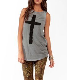 bcac6010c8 Forever 21 Cross Shirts