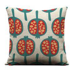 Pomegranate cushion cover