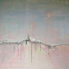'Vaguely Distant' - 120 x 120 cm