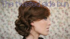 The Twisted Side Bun