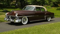 1953 Chrysler New Yorker Newport Chrysler Voyager, Chevrolet Bel Air, Chevrolet Corvette, Classic Trucks, Classic Cars, Classic Style, Vintage Cars, Antique Cars, Oldsmobile 88