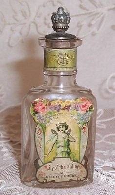 Vintage Lily of the Valley perfume bottle ...