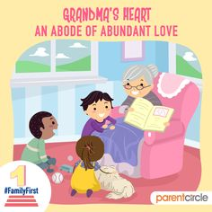 Grandmothers; they are the epitome of unconditional love and the keepers of timeless wisdom.  Family is not an important thing, it's everything – Michael J Fox https://www.parentcircle.com/clip-book/4a4237038e/celebrating-togetherness/ #familyfirst #togetherness