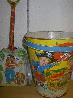 Pirate pail and pirate shovel | by karenpeacock