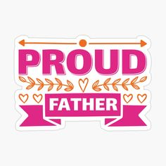 Father's Day Stickers, Fathers Day, Dads, Prints, Father's Day, Fathers