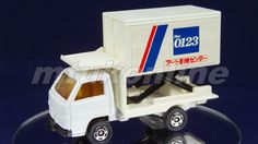 TOMICA 032E ISUZU ELF POWER CONTAINER | 1/78 | JAPAN | 032E-01 | FIRST Old Models, Diecast, Elf, Auction, Container, Ford, Trucks, Japan, Elves