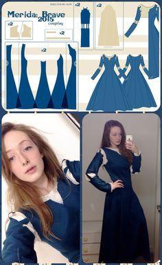 Merida Dress Pattern
