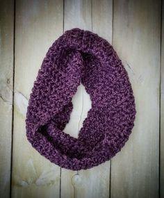 Crochet Stitch Ltr : Arm Knit Cowl - Mauve/Pink () Crochet Pinterest Cowls, Knit cowl ...
