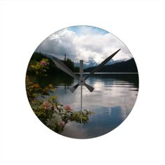 Browse our amazing and unique Lake wedding gifts today. The happy couple will cherish a sentimental gift from Zazzle. Favors, Wedding Day, Clock, Mountains, Home Decor, Pi Day Wedding, Watch, Presents, Decoration Home