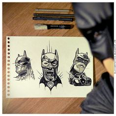 Batman by Olivier Poinsignon