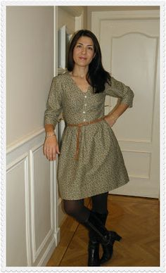 Vestido Sureau