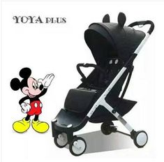a67e0f45f88 babyYoya plus baby stroller folding baby carriage newborn use boarding  stroller 11 free gift years baby