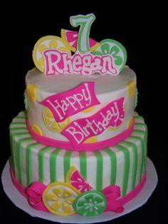 Pink Lemonade Party Cake-GoochieGourmet.com