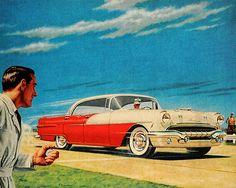 '56 Pontiac..long gone but not forgotten..  mine was white on white.