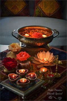 Top Diwali Decor Ideas From The Best In The Business I have never seen so many pretty pics and so much inspiration all at one place. Today my fave Indian decoristas share their fave Diwali decor ideas with us. Diwali Diya, Diwali Craft, Diwali Party, Diwali Celebration, Diwali 2018, Diya Decoration Ideas, Diwali Decorations At Home, Festival Decorations, Decor Ideas