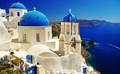 "Santorini Greece Travel Beautiful Places Take a Holiday's Tour to Beautiful Villages of Santorini Island Greece Santorini Greece Travel Beautiful Places. Santorini, officially known as ""… Best Hotels In Greece, Oh The Places You'll Go, Places To Visit, Zakynthos, Heraklion, Santorini Island, Oia Santorini, European Destination, Honeymoon Destinations"