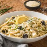 Check out this delicious recipe for Creamy Mushroom-Artichoke Pasta — watch the video or print the recipe and get it on the table in no time. German Cabbage Soup Recipe, Cabbage Soup Recipes, Pasta Recipes, Cooking Recipes, Healthy Recipes, Creamy Mushrooms, Stuffed Mushrooms, Cream Of Mushroom Pasta, Veggie Appetizers