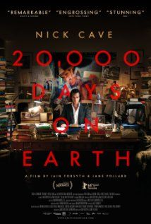 Nick Cave: 20.000 dage på Jorden (2014) Writer and musician Nick Cave marks his 20,000th day on the planet Earth.
