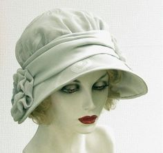 Millinery Hat Vintage Style 20s Designer Handmade by BuyGail, $215.00