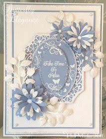 Phills' Crafty Place: Sneaky Peek! Butterfly Elegance - Blue Dusk & Coconut White