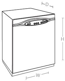 Before even you think of shopping for a dishwasher, do measure the dimensions and sizes.