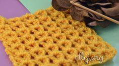 Yellow Sea crochet stitch