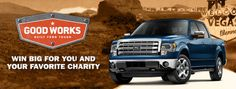 Go to: http://fordvehicles.emipowered.net/goodworks and Nominate Orange Duffel Bag Initiative as your charity of choice their 2014 BUILT FORD TOUGH GOOD WORKS SWEEPSTAKES.  You could Win a 2014 Ford F-150 with EcoBoost, a trip to the 2014 Professional Bull Riders Built Ford Tough World Finals in Las Vegas, NV, a $500 Gift Card, AND a 2014 Ford F-series Truck and a $25,000 donation for Orange Duffel Bag. The Sweepstakes ENDS 10/12/14