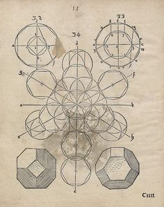 Some sort of illustration featuring truncated octahedral projections