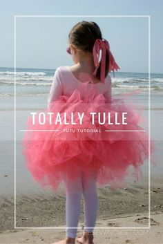 Learn how to make the fullest tutu ever with The Sewing Loft. OMG, my girls would just scream with excitement at the prospect of wearing one of these. Amazing and a great tutorial for sewing a tulle tutu.