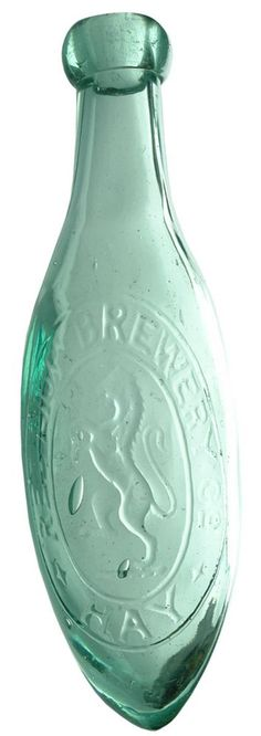 Auction 26 Preview | 287  | Red Lion Brewery Hay Antique Torpedo Bottle