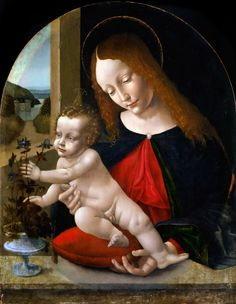 Madonna and Child (Leonardo da Vinci, Studio of)