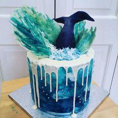 [Homemade] A whale of a cake : food