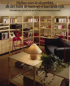 Az IVAR megkapta jelenlegi nevét és az IKEA katalógus borítóját 1984-ben.