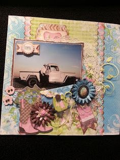 New Prairie Chic Collection from Bo Bunny - Scrapbook.com