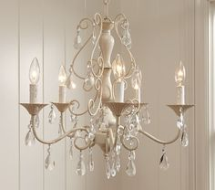 Clear Alyssa Chandelier | Pottery Barn Kids