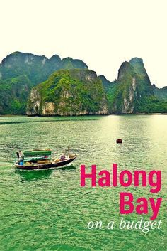 Halong Bay, Vietnam on a budget