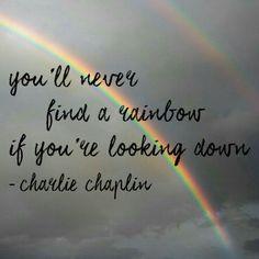 Nikdy nehladaj dúhu ak pozeráš dole