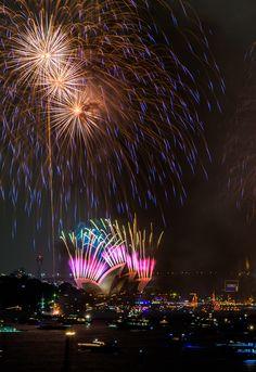 New Year Sydney by Ben Fewtrell on 500px