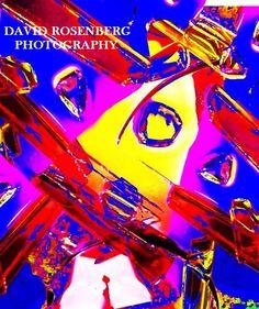 Inspector Clouseau; original abstract photography by David Rosenberg; by ArtBySarahHinnant on Etsy