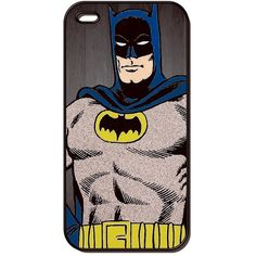 Vintage Batman Comic Book iPhone Case Phone Case / Fits Iphone 4, 4S... ($17) ❤ liked on Polyvore