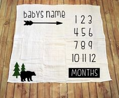 Baby Growth, Muslin Swaddle Blanket, Print Fonts, Baby Boy Blankets, Personalized Baby Blankets, How To Get Money, New Baby Gifts, Baby Shower Gifts
